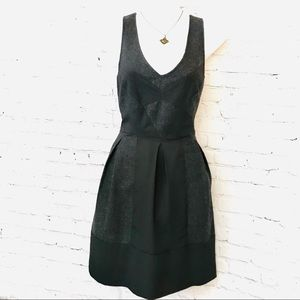 Anthropologie Wool Dress Kimchi Blue brand gray  6